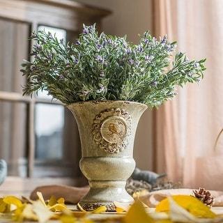 "RusticReach Silk Small Orchid Stem in Purple 13"" Tall"