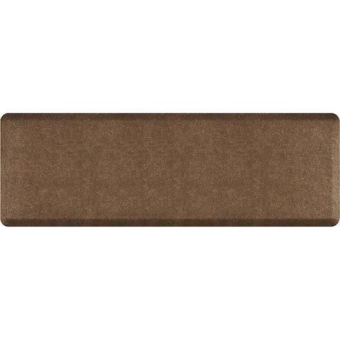 "WellnessMats Granite Anti-Fatigue Office, Bathroom, & Kitchen Mat, Granite Copper, 72"" by 24"""