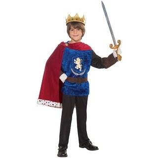 Forum Novelties Charming Knight Child Costume (M) - Blue/Red - Medium