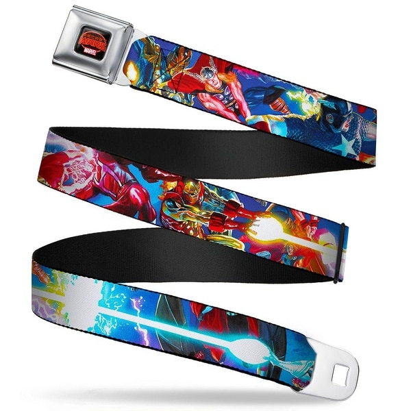 Secret Wars Marvel Secret Wars Fireball Logo Full Color Black Reds Secret Seatbelt Belt