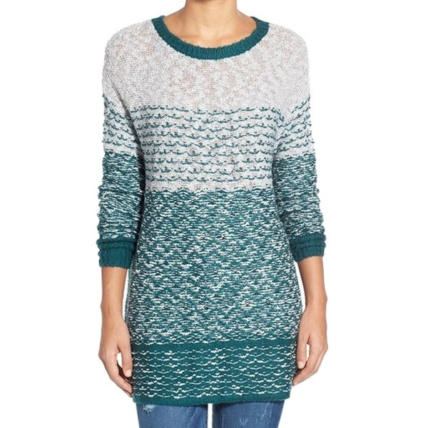 fd04c9e10f Shop Caslon NEW Green Teal Gray Women s Size XS Tunic Colorblock Sweater - Free  Shipping On Orders Over  45 - Overstock.com - 16808784