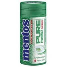 Mentos Pure Fresh Gum Bottle Spearmint 10 pack (15 ct per pack)
