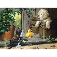 "Junior Large Paint By Number Kit 15.25""X11.25""-3 Buddies"