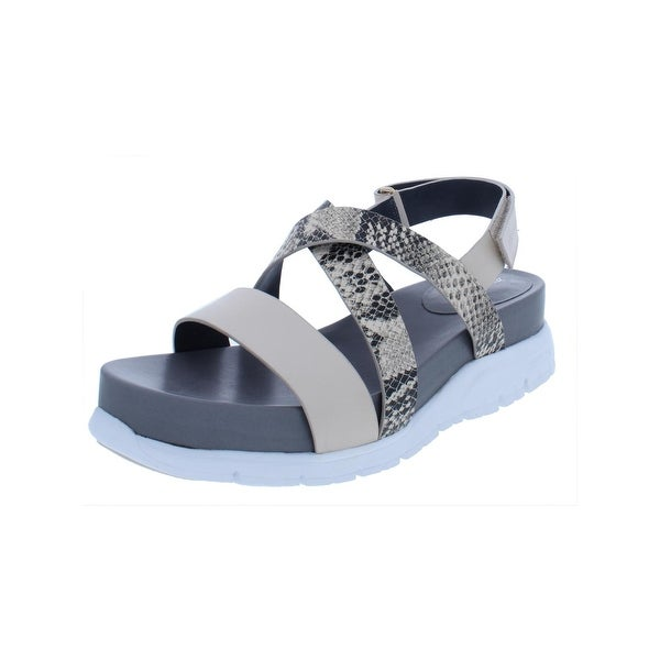 0c6db9b8c5a0 Shop Cole Haan Womens Zerogrand Strap Sandals Crisscross Open Toe - Free  Shipping Today - Overstock - 25361272