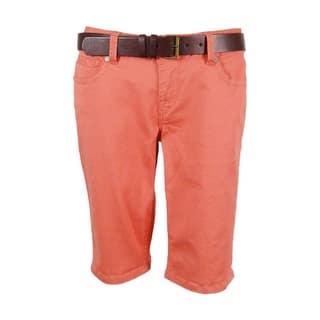 American Rag Women's Belted Bermuda Shorts|https://ak1.ostkcdn.com/images/products/is/images/direct/dfb4fed41f8380f66baf8dfafee397dd911d2118/American-Rag-Women%27s-Belted-Bermuda-Shorts.jpg?impolicy=medium