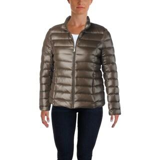 Aqua Womens Puffer Coat Winter Down