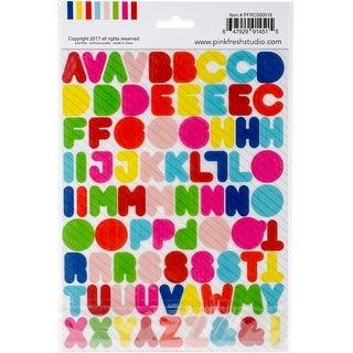 "The Mix No. 1 Vellum Stickers 6""X8"" 2/Pkg-Alpha"