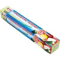 International Wholesale 100Sqft Plastic Wrap HS-00262 Unit: EACH Contains 24 per case