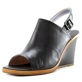 Kate Spade Nilena Women Open Toe Leather Wedge Sandal