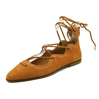 Lucky Brand Billoh   Round Toe Leather  Flats