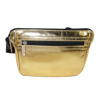 ILI Leather Waistpack with RFID Protection - One size