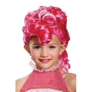 Disguise Pinkie Pie Movie Child Wig - Pink