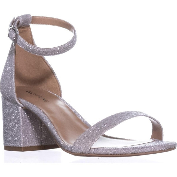Call It Spring Stangarone Ankle Strap Sandals, Silver