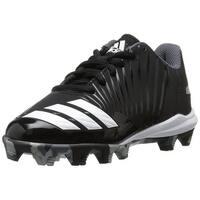 adidas Kids' Icon Md Baseball Shoe, Black/White/Onix, Size 10K M US Big Kid - 10k m us big kid