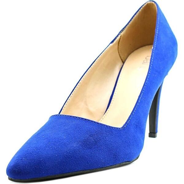 Bar III Joella 2 Women Pointed Toe Synthetic Blue Heels