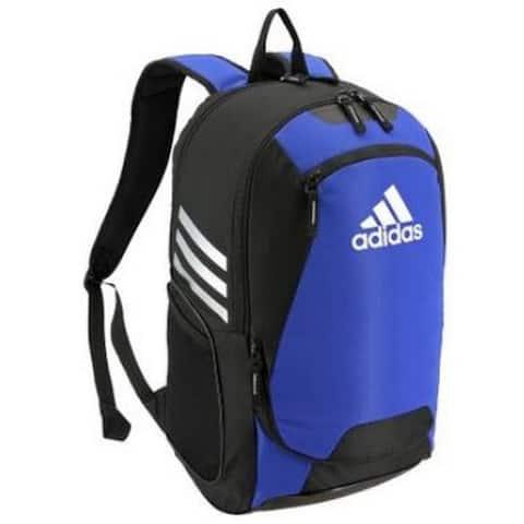 "Adidas Stadium II Backpack Fits Soccer Ball Sport Bag 4 Gym Color Options 5144 - 12""L x 9.5""W x 20""H"