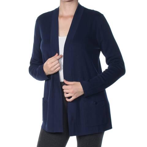 ANNE KLEIN Womens Navy Sweater Size: M