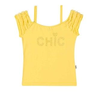 Girls T-Shirt Strap Tee Summer Top Kids Clothing 2-10 Years Pulla Bulla