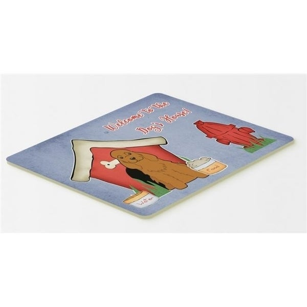Carolines Treasures BB2849CMT Dog House Collection Cocker Spaniel Red Kitchen or Bath Mat 20 x 30