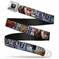 Harry Potter Logo Full Color Black White Harry Potter Reward Quidditch Ball Seatbelt Belt