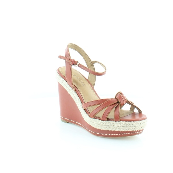 Coach Dalton Women's Sandals & Flip Flops Terracotta / Ginger - 6.5