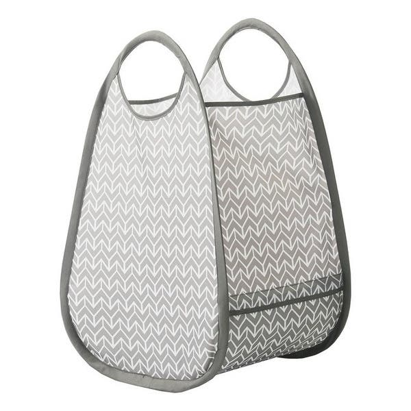 Neatfreak 5644 Mix201 006 Stylish Pop Up Hamper And Tote With Everfresh Odor Control Overstock 29667603