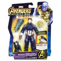 Hasbro  6 in. Avengers Infinity War Captain America Figure - Set of 8