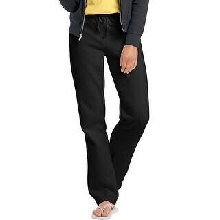 Hanes EcoSmart Cotton-Rich Women's Drawstring Sweatpants - S