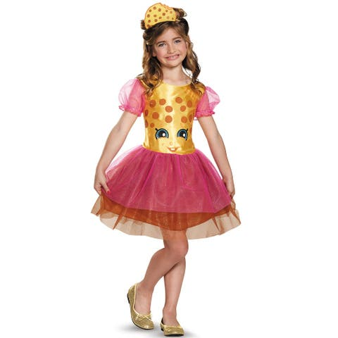 Disguise Kookie Cookie Classic Child Costume - Brown/Pink