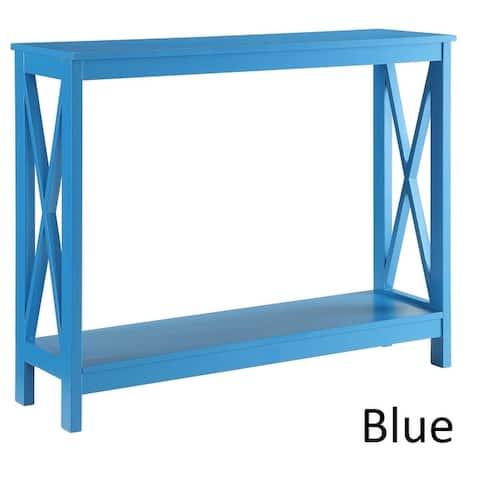 Copper Grove Cranesbill X-base Console Table
