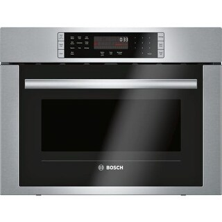Bosch HMC54151UC 24 Inch Wide 1.6 Cu. Ft. Speed Oven with SpeedChef From the 500 Series