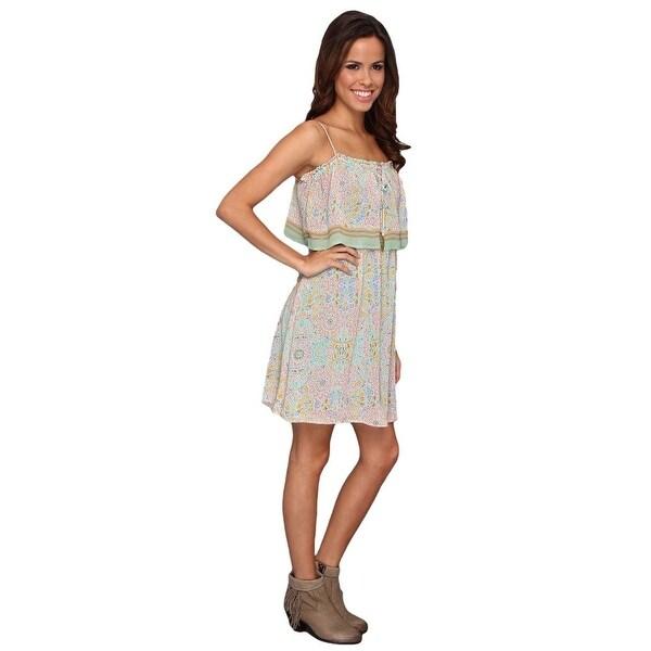 1f6fc445aad Shop Stetson Western Dress Womens Sundress Print Green - Free Shipping  Today - Overstock.com - 15382966