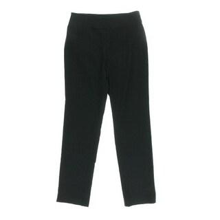 Nic + Zoe Womens Solid Slim Dress Pants