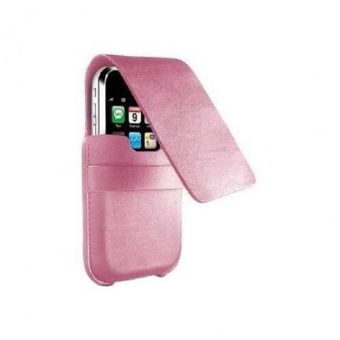 DLO SlimFolio Leather Case for iPhone 3G & iPod touch 1G & 2G (Pink)