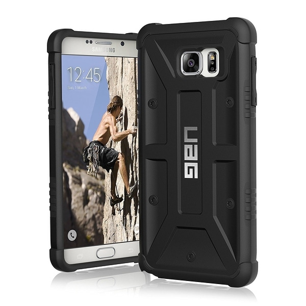 UAG Samsung Galaxy Note5 Feather-Light Composite BLACK Military Drop Tested Case