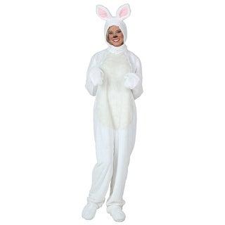 Plus Size White Bunny Costume