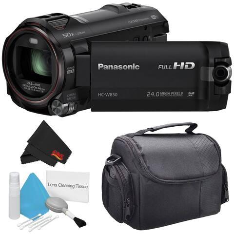 Panasonic HC-W850 Twin Camera Full HD Camcorder Bundle