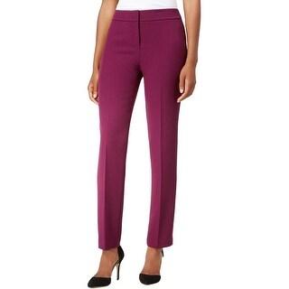 Kasper Womens Kristy Dress Pants Slim Fit Wear To Work