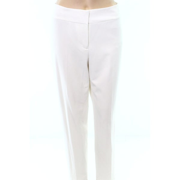 10f4217cc Shop Nine West NEW Bright White Women's Size 4 Ankle Dress Pants Stretch -  Free Shipping On Orders Over $45 - Overstock - 20900191