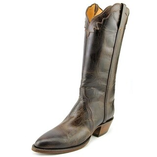Lucchese Ch Mad Dog Goat Triad Men B Round Toe Leather Brown Western Boot