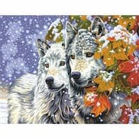 Paint Works Paint By Number Kit, 14 x 11 in. - Early Snowfall