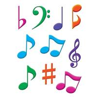 Musical Notes Accents