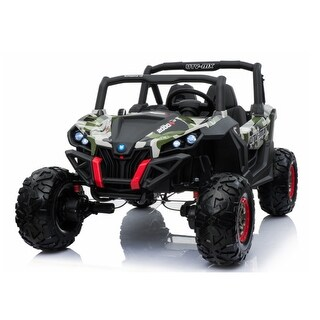 Link to Camo Wild Cross UTV 12V Two Seater - Black Similar Items in Toy Vehicles