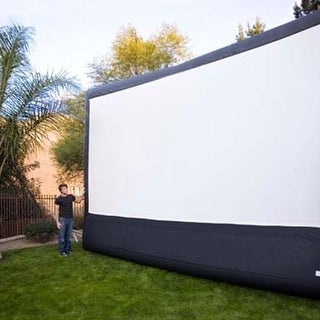 Open Air Cinema 16' Video Projection Inflatable Screen