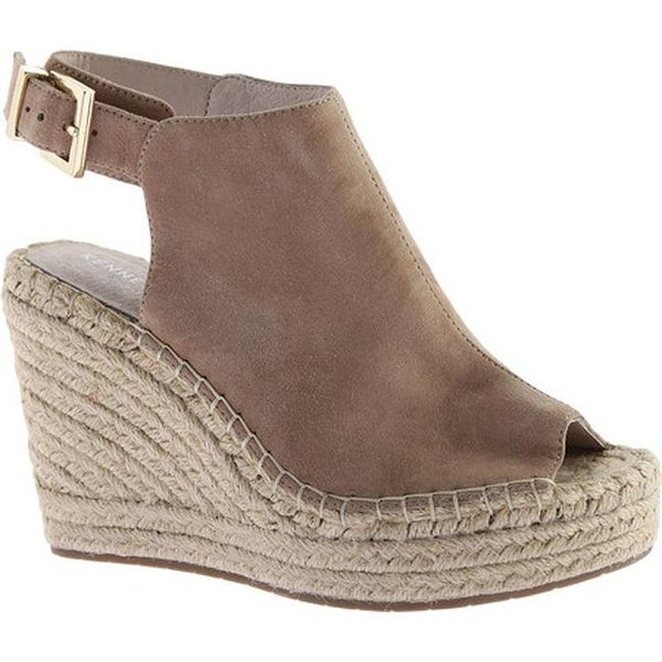 d46cc7b3c07 Shop Kenneth Cole New York Women's Olivia Wedge Almond Suede - Free ...