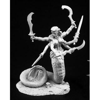 Reaper Miniatures Snake Demon #03766 Dark Heaven Legends Unpainted Metal Figure