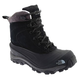 The North Face Men's Chilkat III Snow Boot TNF Black/Dark Gull Grey
