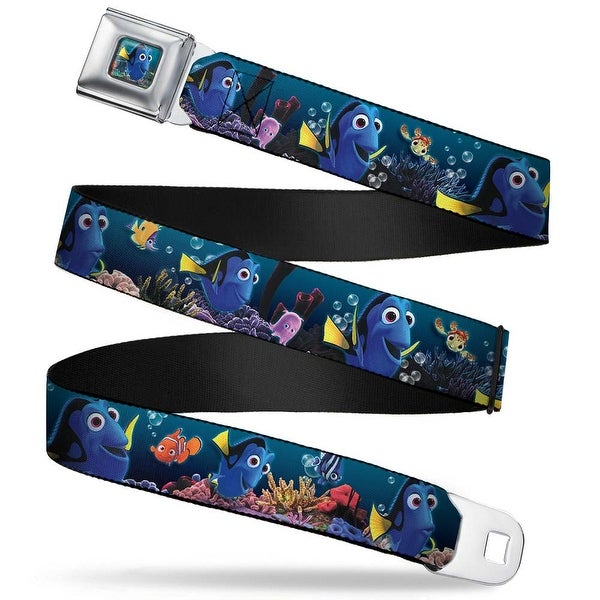 Dory Pose Full Color Dory Poses & Friends Under The Sea Webbing Seatbelt Seatbelt Belt