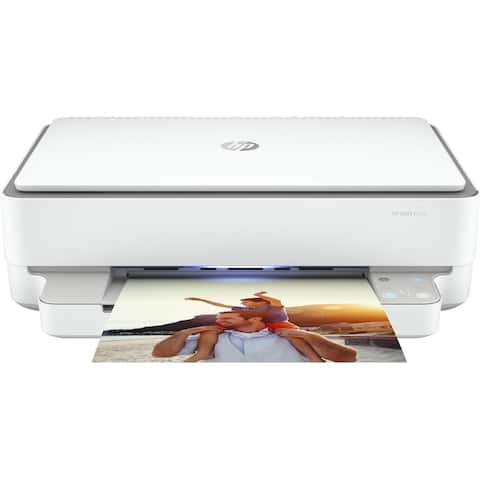 HP ENVY 6055 All-In-One Printer (5SE16A) RENEWED - WHITE