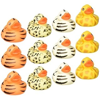 "Rhode Island Novelty 2"" Safari Rubber Duck (12 Piece)"